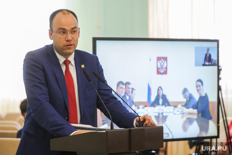 Николай Цуканов с рабочим визитом в городе Карабаше. Челябинская область