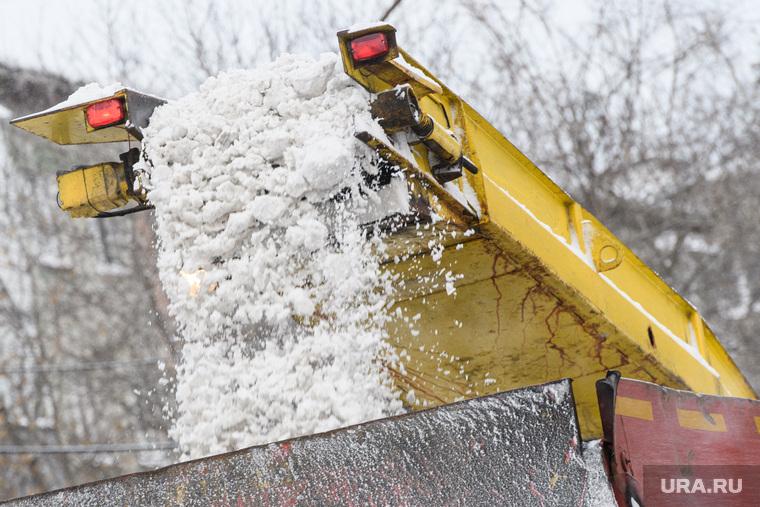Уборка снега. Екатеринбург