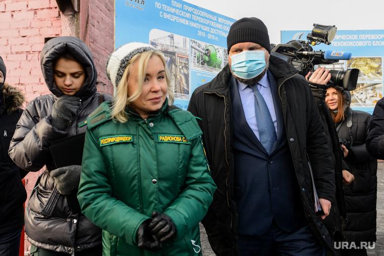 Визит в Челябинск заместителя председателя правительства РФ Виктории Абрамченко. Челябинск
