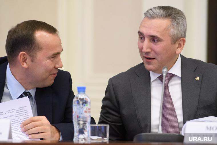 Совещание в полпредстве с главами регионов УрФО по экологии. Екатеринбург