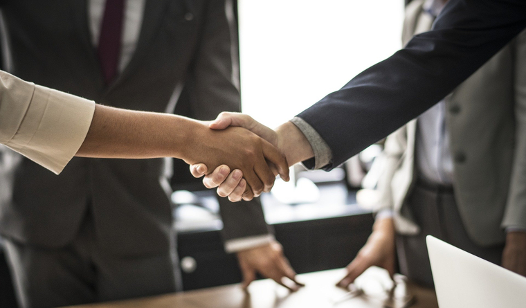 Бизнес, сделка, договор. клипарт