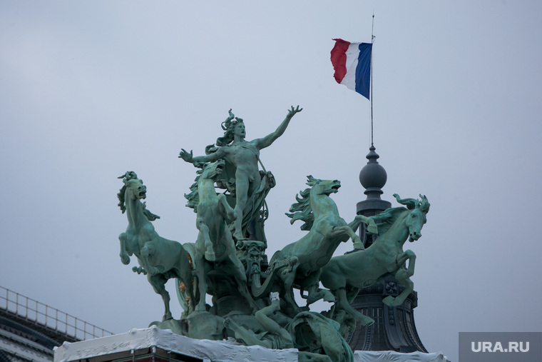Виды Парижа. Париж