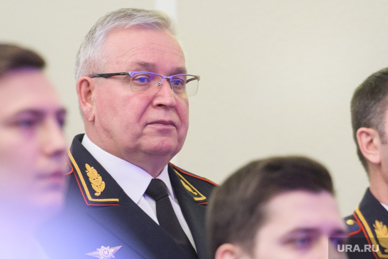Глава ГУ МВД России по Свердловской области Мешков Александр. Екатеринбург
