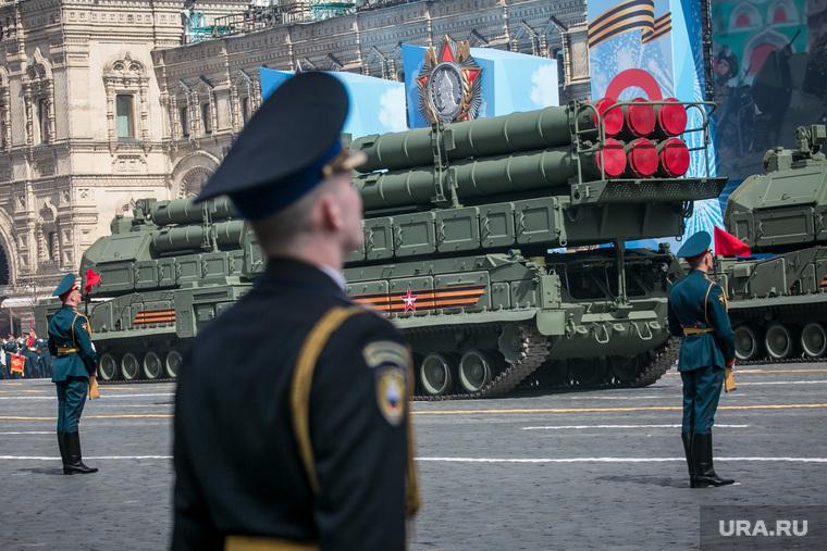Генеральная репетиция парада на Красной площади. Москва