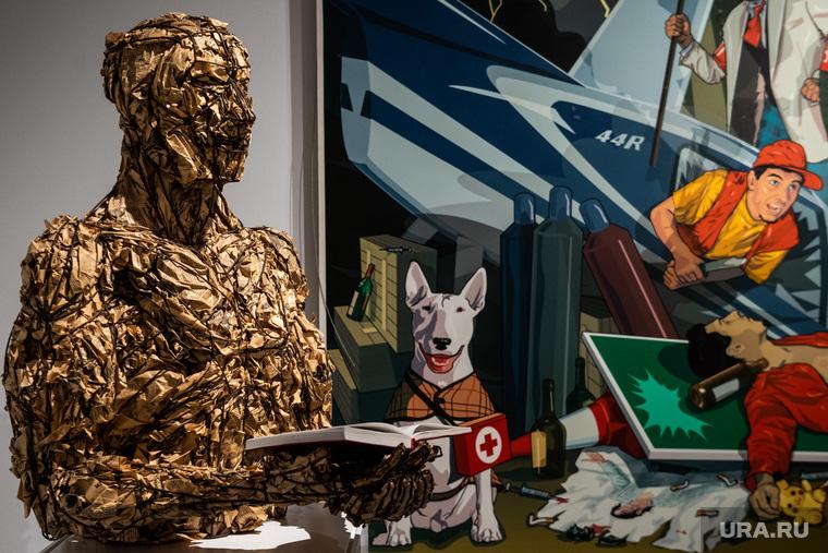 Предпоказ выставки «Все? это – ВЫ» в галерее «Синара Арт». Екатеринбург