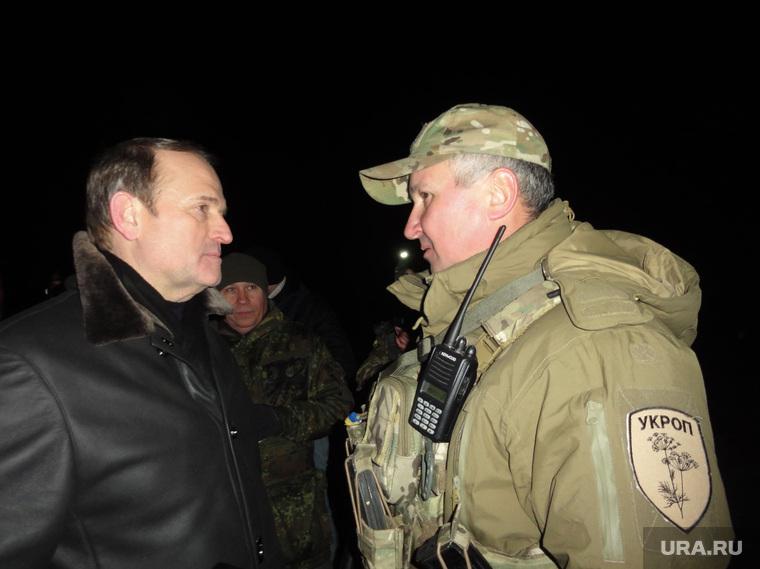 Новый глава СБ Украины Василий Грицак на обмене пленными.
