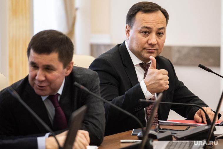 Заседание Правительства Свердловской области. Екатеринбург
