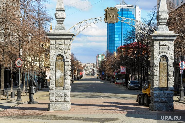 Пустой город. Дезинфекция челябинских улиц, обстановка в четвертый день карантина. Челябинск