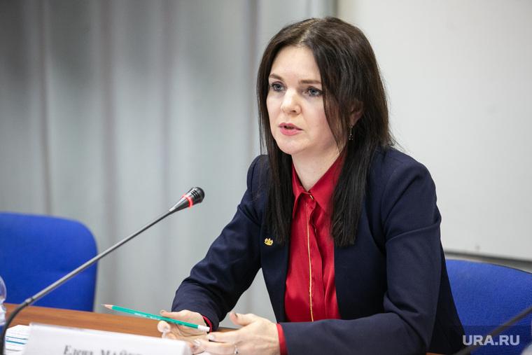 Пресс-конференция Елены Майер, нового директора департамента культуры Тюменской области Тюмень
