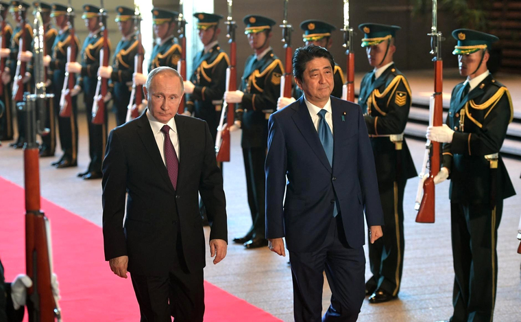 Путин, Абэ