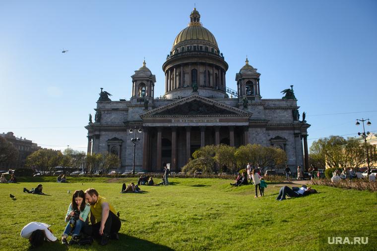 Исаакиевский собор (архив). Санкт-Петербург