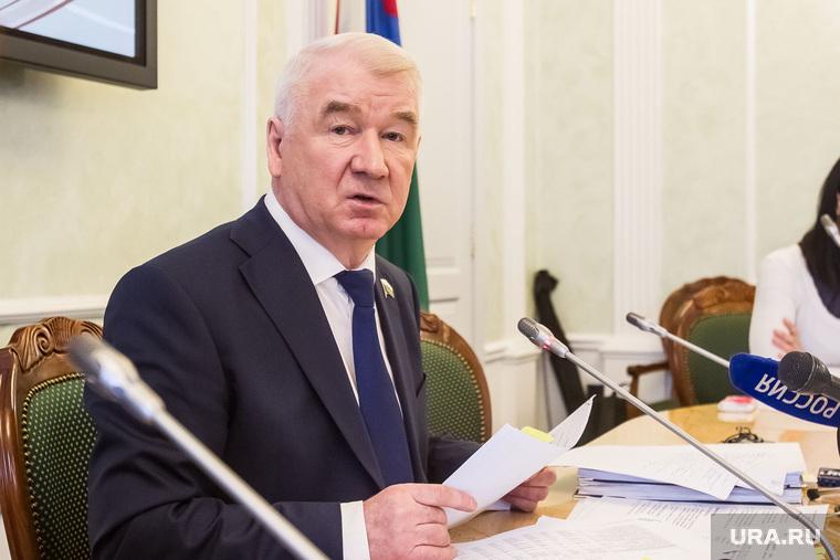 Спикер Тюменской областной думы Сергей Корепанов. Тюмень