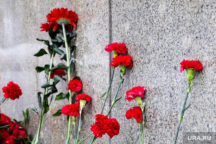 Митинг в честь памяти Владимира Ленина. Тюмень