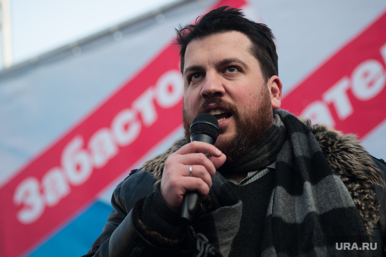 Всероссийская забастовка избирателей. Митинг сторонников Алексея Навального. Екатеринбург