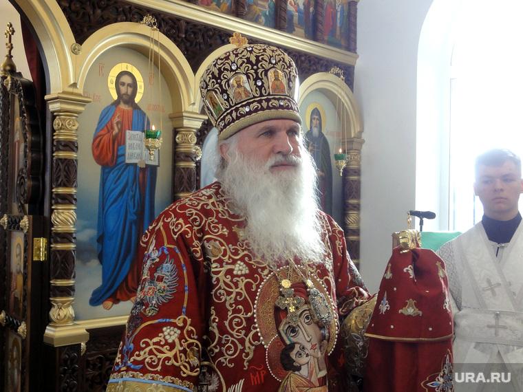 Владыка Викентий в Березовском