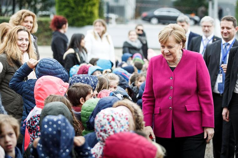 Ангела Меркель, bundeskanzlerin.de