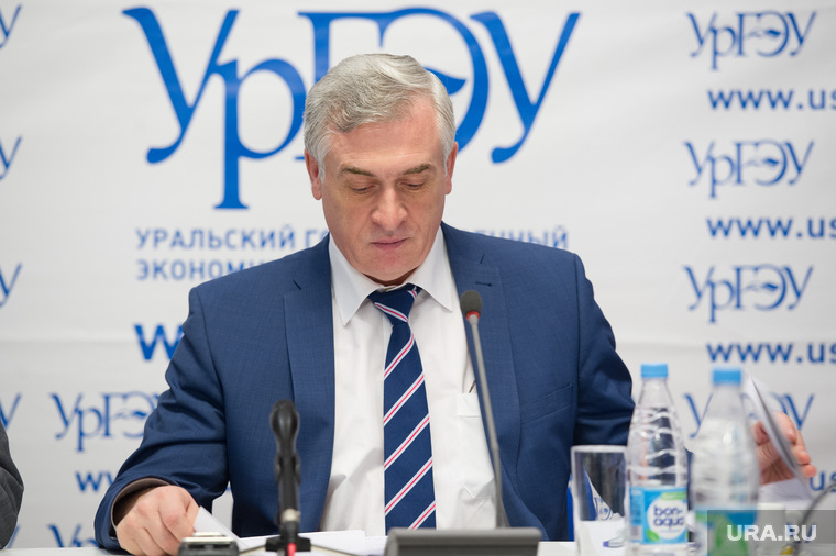 Пресс-конференция Якова Силина в УрГЭУ. Екатеринбург