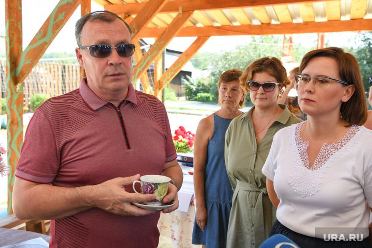 Алексей Орлов в СНТ Березка. Екатеринбург