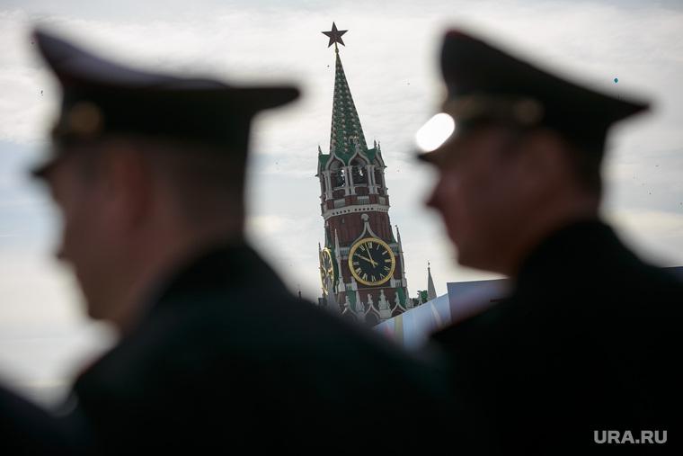 Первомайская демонстрация профсоюзов на Красной площади. Москва