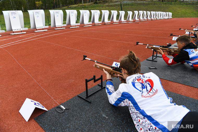 Соревнования по биатлону среди учащихся школ и колледжей СО. Екатеринбург
