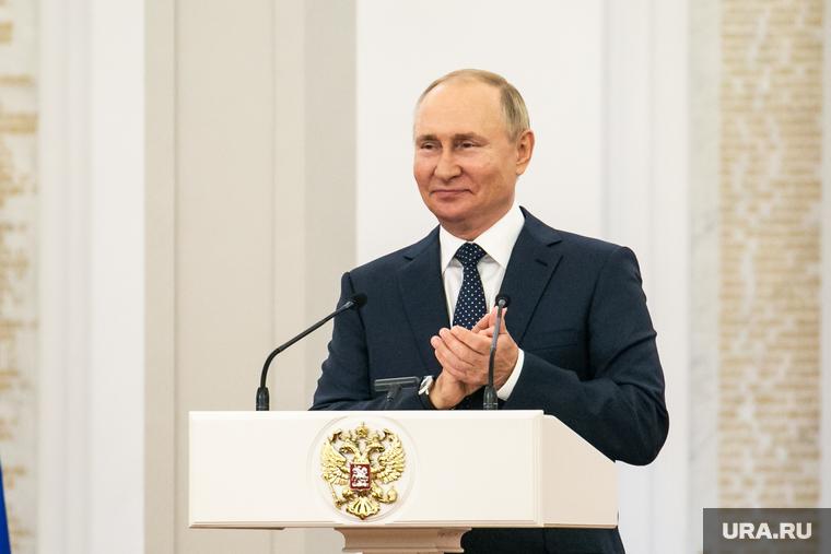 Чествование Параолимпийской сборной России в Кремле. Москва