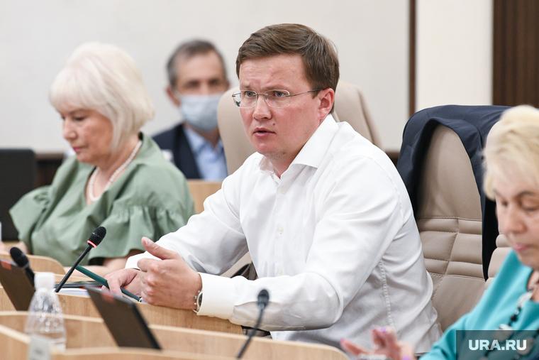 Отчет Алексея Орлова перед Гордумой. Екатеринбург