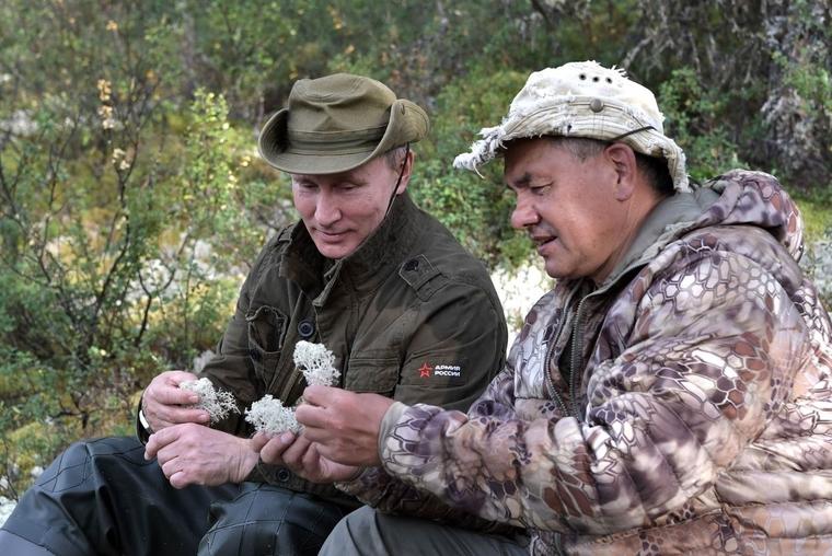 Отпуск Владимира Путина в Тыве