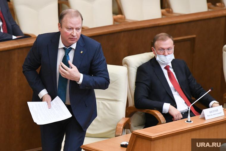 Первое заседание депутатов восьмого созыва Законодательного собрания СО. Екатеринбург
