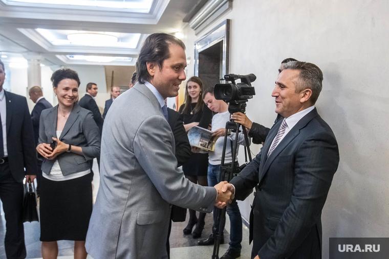 Якушев поздравляет Уватнефтегаз. Тюмень