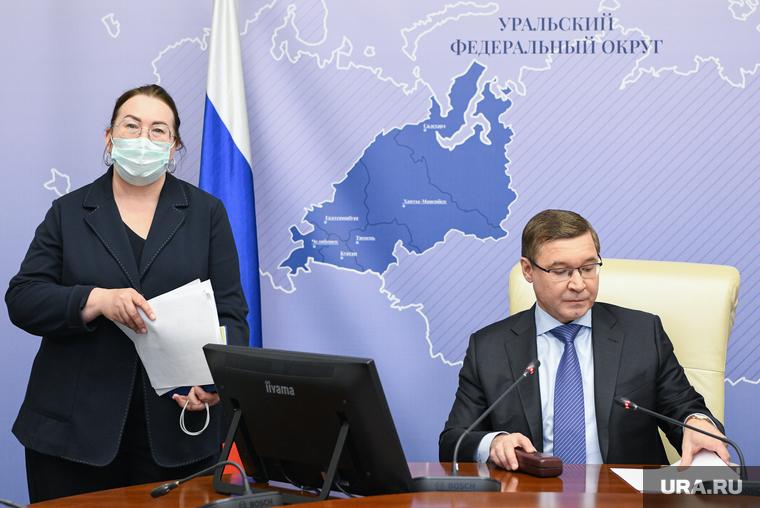 Брифинг Владимира Якушева по результатам голосования на Выборах-2021 в УрФО. Екатеринбург
