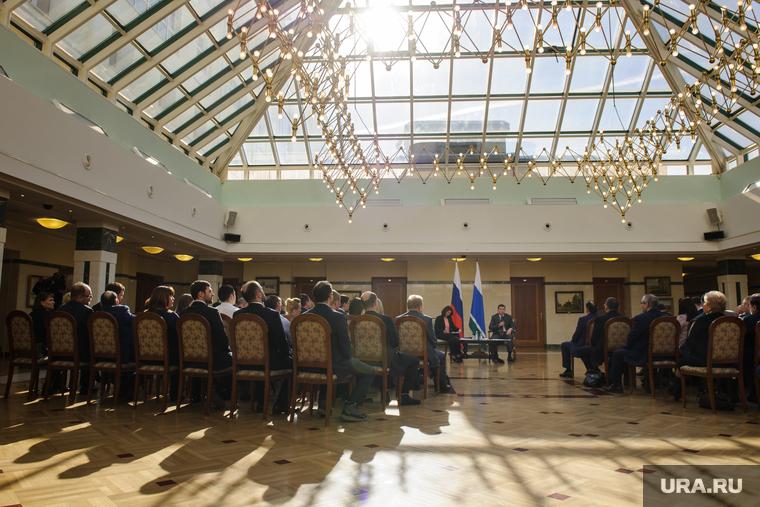 Встреча Евгения Куйвашева с промышленниками и предпринимателями. Екатеринбург