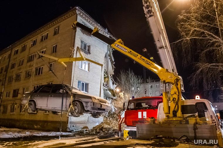 Обрушение дома по Харьковской, 52а. Тюмень