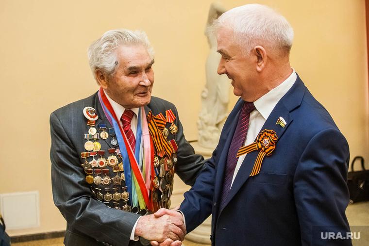 Торжественный прием губернатора Тюменской области в честь 70-летия Победы. Тюмень