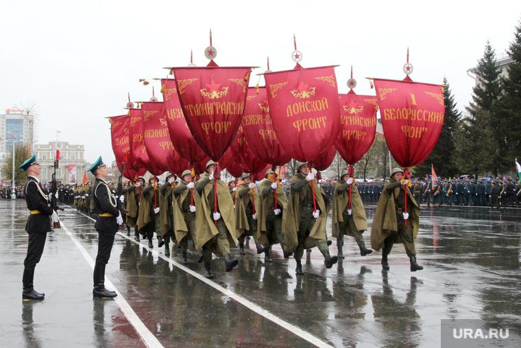Парад Победы Курган, парад победы