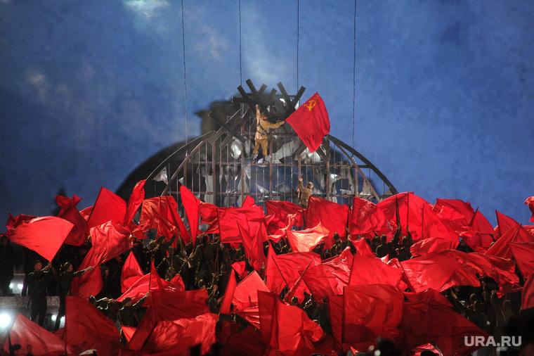 Концерт и салют на Красной площади. Москва, Рейхстаг