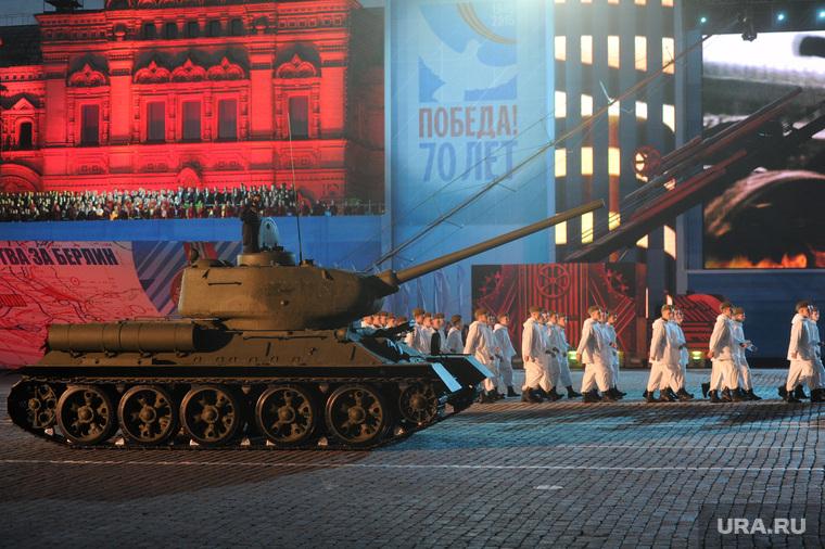 Концерт и салют на Красной площади. Москва