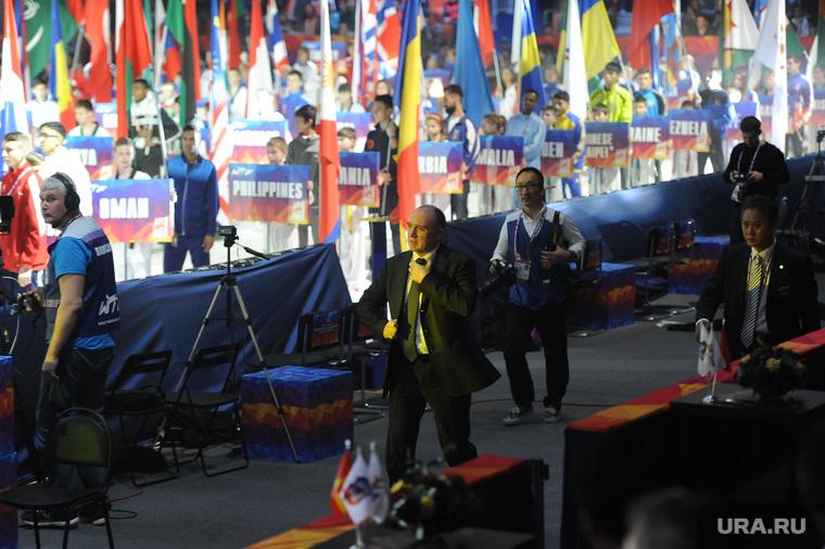 Церемония открытия ЧМ по тхэквандо. Челябинск., дубровский борис