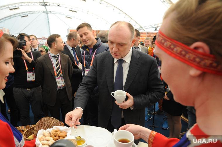 Церемония открытия ЧМ по тхэквандо. Челябинск.