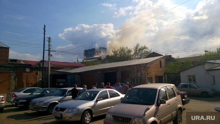 Пожар в академии искусства и культуры Пермь