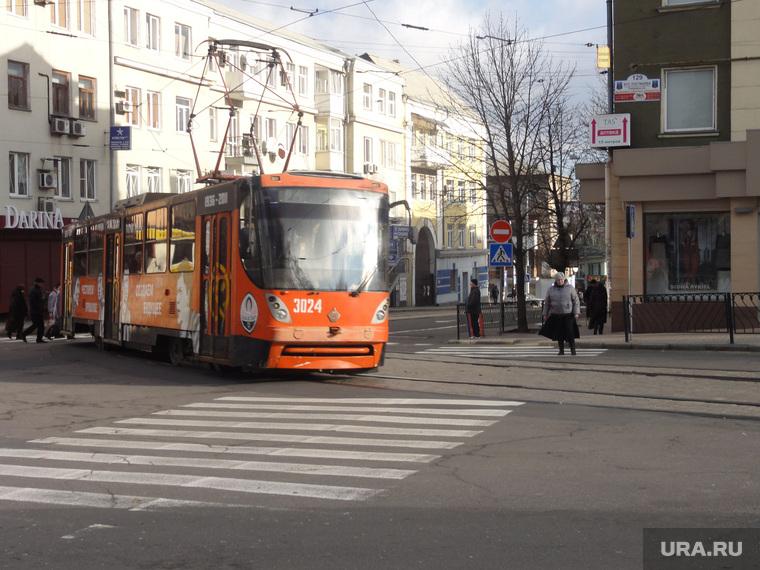 Донецк трамваи новые и старые, трамваи, донецк