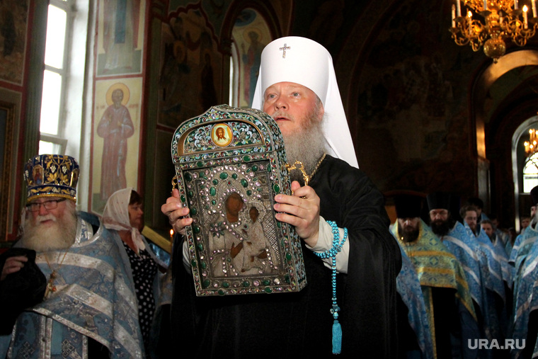 Встреча чудотворной Югской иконы Курган, митрополит иосиф, югская икона