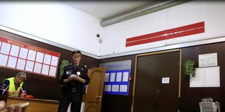 Грэм Филлипс кинофестиваль Здоровые смыслы Москва и ночь в полиции  , Отдел полиции Китай-город