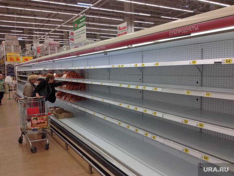 Пустым полкам в российских продуктовых магазинах нашлось объяснение