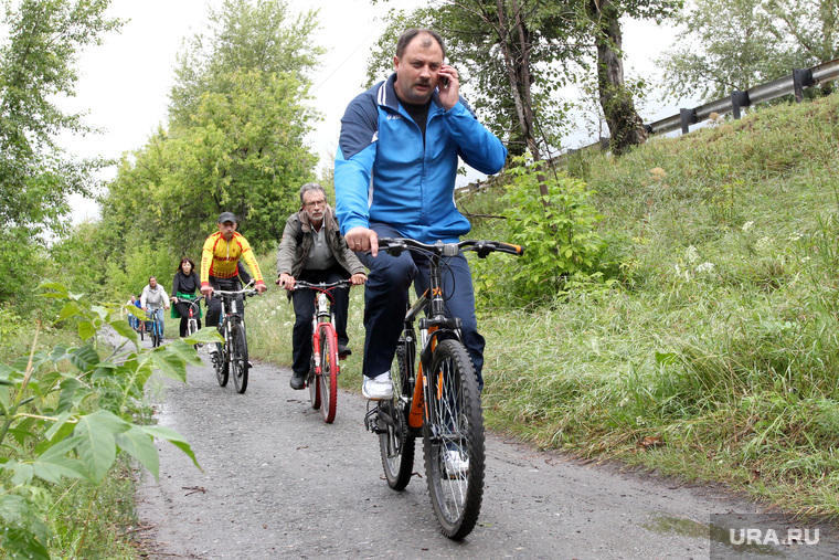 Вело брифинг  Курган, велосипедисты, руденко сергей