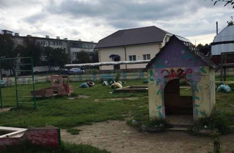 Кашино детская площадка украденная Савельевом и Карамышевым, мен, кашино детская площадка в центре
