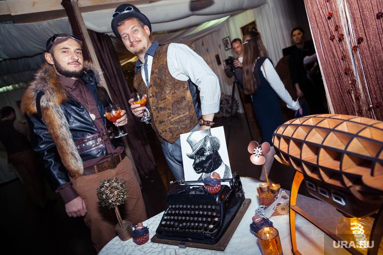 Стимпанк свадьба. Екатеринбург, костюмы, свадьба, печатная машинка