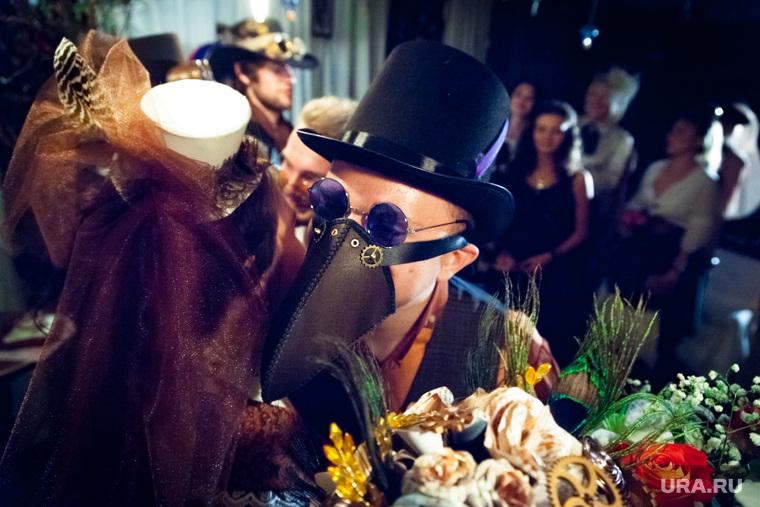 Стимпанк свадьба. Екатеринбург, костюмы, обнимашки, свадьба