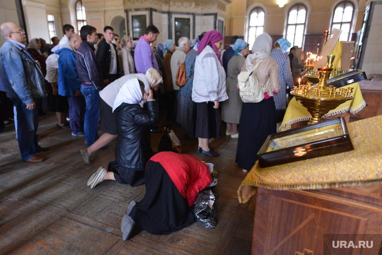Молебен за трезвость. Челябинск., молебен, храм, церковь