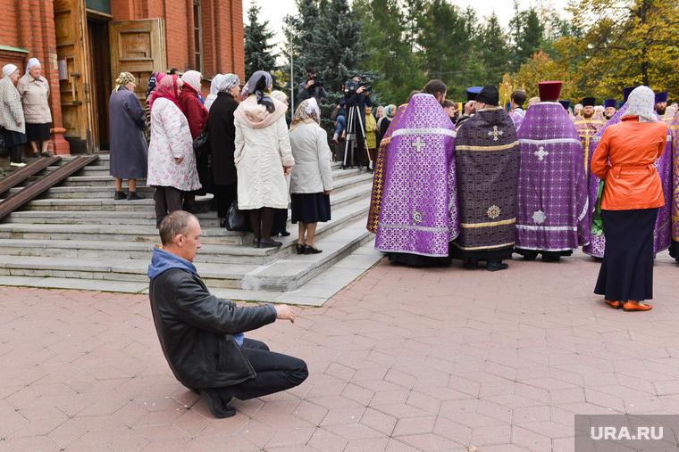 Молебен за трезвость. Челябинск., молебен, пьяный, брейкданс, трезвость