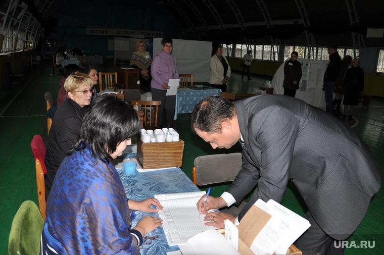 Выборы Курган. Голосование Руденко и Поршаня. 13 сентября 2015 года, выборы, сергей руденко